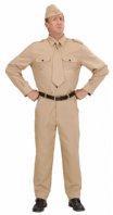 WW2 Men's Soldier Costume (7662)